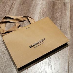 Burberry Paper Shopping Bag